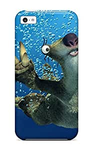 Durable Ice Age Back Case/cover For Iphone 5c