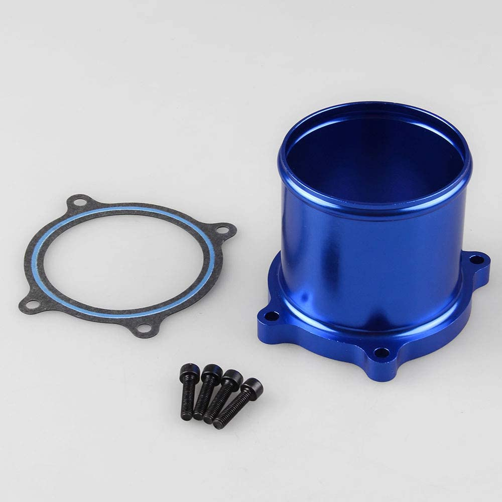 ETbotu Throttle Valve Delete Kit for Vehicle Car 07-15 Dodge Ram 6.7L 408ci L6 Cummins Diesel Turbo