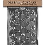 Dress My Cupcake DMCJ024SET Chocolate Candy Mold, Coins, Set of 6