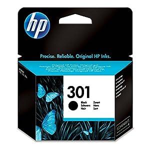 HP CH561EE 301 Cartucho de Tinta Original, 1 unidad, negro 51 Kk7atlKL