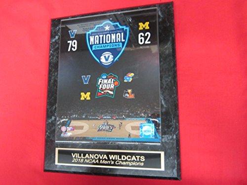 2018 NCAA Mens Basketball Champions VILLANOVA WILDCATS Engraved Collector Plaque w/8x10 Photo