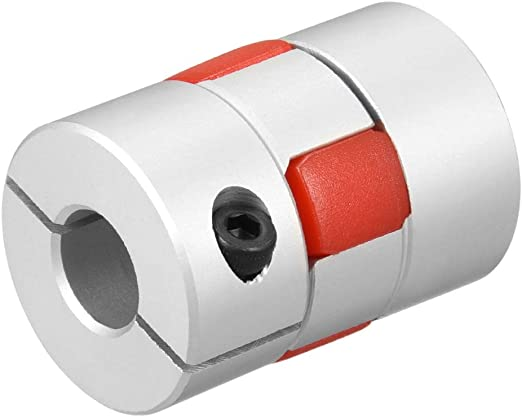 uxcell Shaft Coupling 10mm to 10mm Bore L35xD25 Flexible Coupler Joint for Servo Stepped Motor
