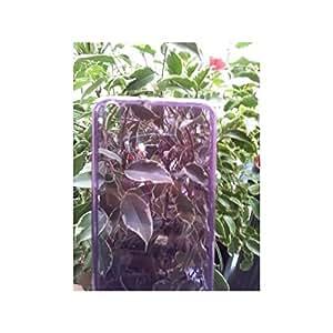Pcmoviles -- funda Gel silicona tpu liso color violeta para LG optimus L3-2 e430