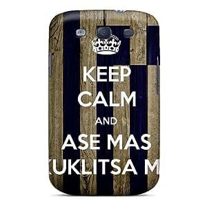 Forever Collectibles Ase Mas Kouklitsa Mu Hard Snap-on Galaxy S3 Case