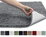Kyпить The Original GORILLA GRIP Shaggy Chenille Bathroom Rug Mat, 3 Sizes and 10 Colors, Extra Soft and Absorbent, Machine-Washable, Perfect for Bath, Tub, and Shower (Gray, 30