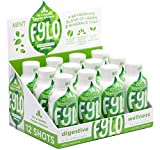 Natural Ginger Shots Digestive Wellness Aid, 12-Count Box - Formula with Ginger and Other Herbs for Digestive Support by FYLO