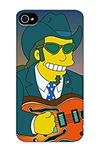 Awesome Design Simpsons1 Ted Nugent Guest On The Impson Tomorrow Preview Hard Case Cover For Iphone 4/4s(gift For Lovers)