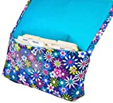 Coupon Organizer Holder Expandable Binder Purse Size Happy Florals