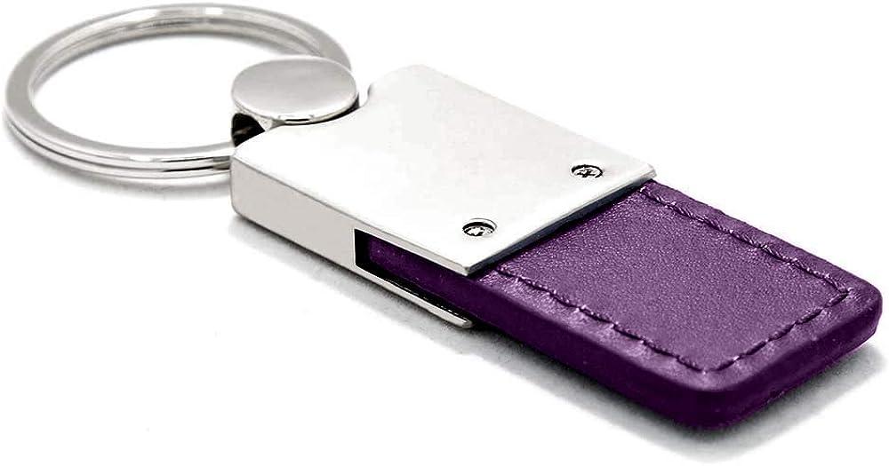 Honda HR-V Purple Leather Key Ring