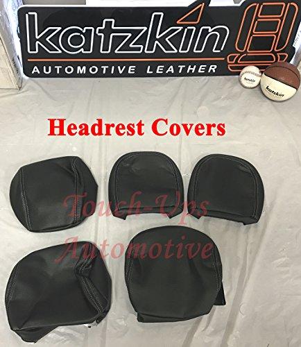 2015 - 2016 - 2017 - 2018 Ford F-150 SuperCrew katzkin negro asiento de piel cubre: Amazon.es: Coche y moto