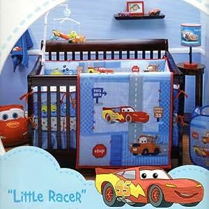 Amazon Com Disney Baby Cars Little Racer 4 Piece Crib