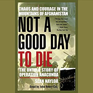 Not a Good Day to Die Audiobook