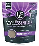 Vital Essentials Freeze-Dried Turkey Mini Patties, 1 lb