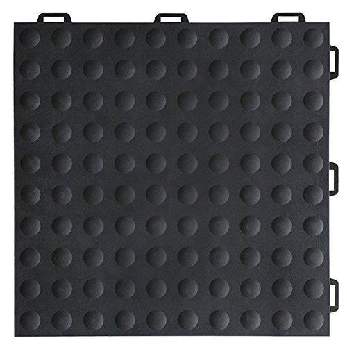 Greatmats StayLock Modular Bump Top Tile 26 Pack (Black) ()