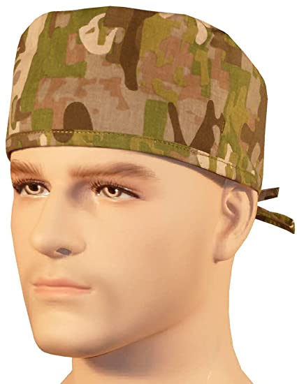 Image Unavailable. Image not available for. Color  Mens And Womens Medical Scrub  Cap - Multi Camo 2d1decf4ebf4