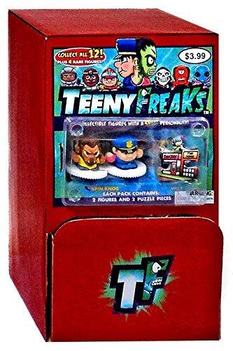Gravity Feed Box - TeenyFreaks Series 1 Gravity Feed Box [24 Packs]
