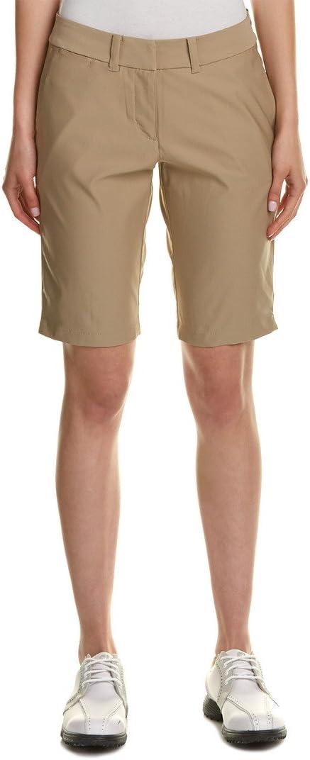 TALLA 18 x 11L. Nike Bermuda Tournament Short - Pantalón Corto de Golf para Mujer