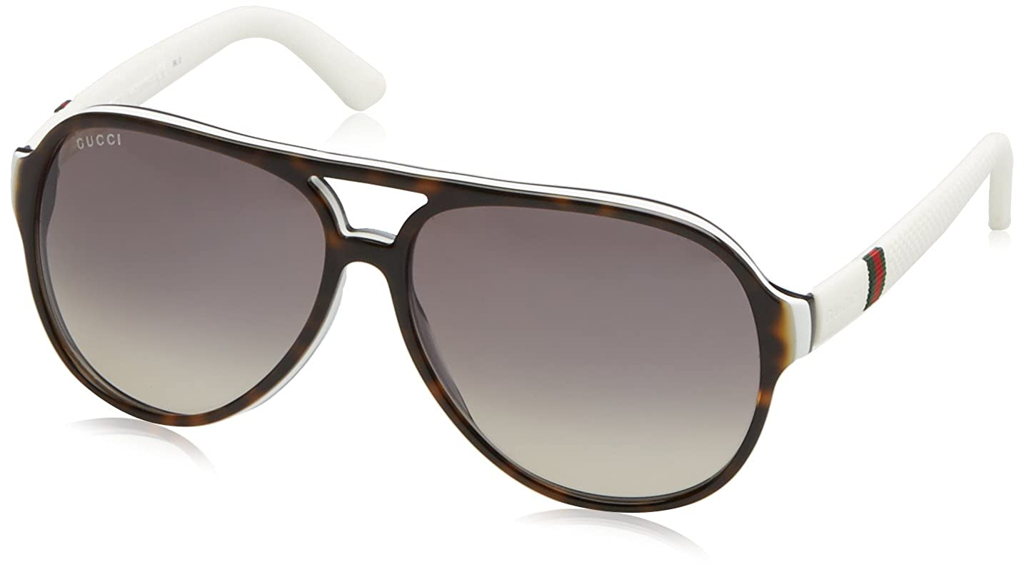 016287d93a3 Gucci 1065S H5H Havana 1065S Aviator Sunglasses Lens Category 2  Gucci   Amazon.ca  Clothing   Accessories
