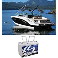 XS Power XP2500 2500 Watt Power Cell Marine Stereo Battery For Boat