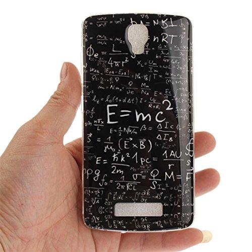 Téléphone Bord equation Scratch Arrière Plus Slim L5 Silicone Fit En Transparent Couverture Souple ZTE Peint Hozor Protection Motif Antichoc Cas Cas TPU De De Blade Résistant wxf4gnR