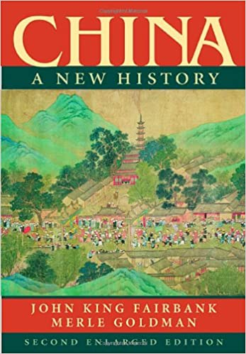 china a new history2nd enlarged edition