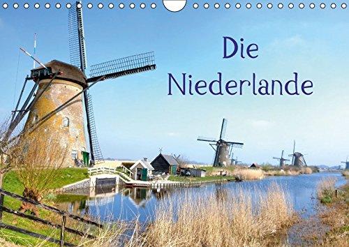 Die Niederlande (Wandkalender 2018 DIN A4 quer): Die Niederlande - ein Land zwischen Wind und Wasser. (Monatskalender, 14 Seiten ) (CALVENDO Orte) [Kalender] [Apr 01, 2017] Kruse, Joana