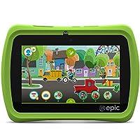 """LeapFrog Epic 7 """"tableta para niños basada en Android de 16GB, verde"""