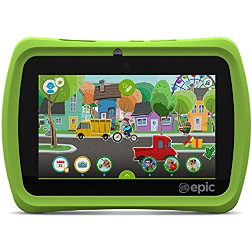 LeapFrog Epic 7 Android-based Kids Tablet 16GB, Green Coupons