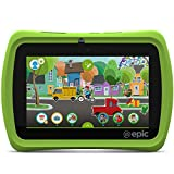 LeapFrog Epic 7'' Android-based Kids Tablet 16GB, Green