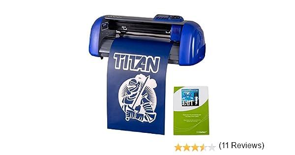 15 uscutter mesa Titan Craft Cortador de vinilo con diseño y software de corte: Amazon.es: Hogar