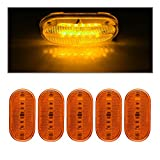 4 x 2 rv marker lights lenses - Catinbow Side Marker Light Amber, 4