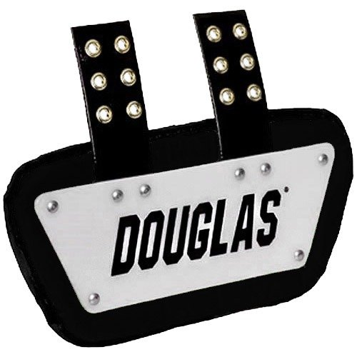 Douglas Custom Pro CP Series Removable Football Back Plate - 4 Inch - White/Black