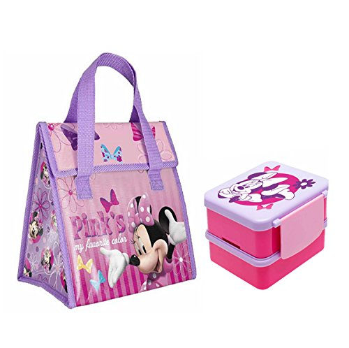 "Zak Designs Disney Jr Minnie Mouse Bow-Tique ""Pink's My F..."