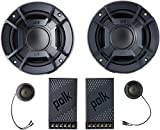 Polk Audio DB5252 DB+ Series 5.25' Component Speaker System with Marine Certification, Black