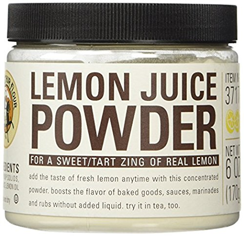 King Arthur Flour Lemon Juice Fruit Powder - 6 oz With Measuring Scoop Included. by King Arthur Flour (Image #1)'