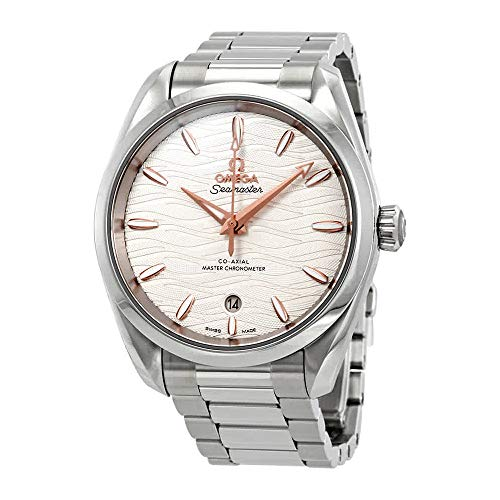 Omega Seamaster Aqua Terra Automatic Opaline Silvery Dial Ladies Watch 220.10.38.20.02.002