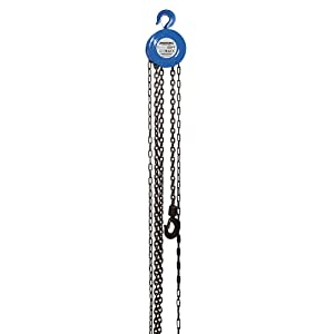 Silverline 633705 Chain Block Hoist 1 Tonne (1000kg) Capacity 2.5m Lifting Height