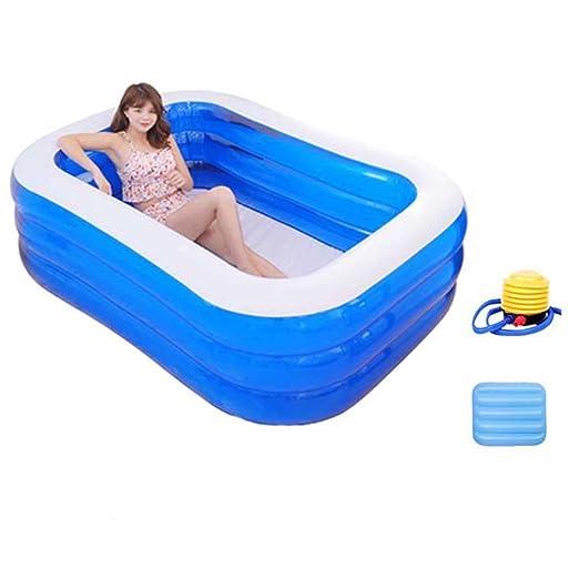 Global- PVC de Eco sin la bañera Plegable Inflable de la Cubierta ...