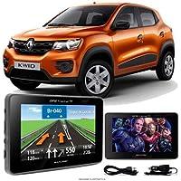 Navegador Gps Automotivo RENAULT KWID Tela 4,3 Touch Voz C/TV FM Oferta