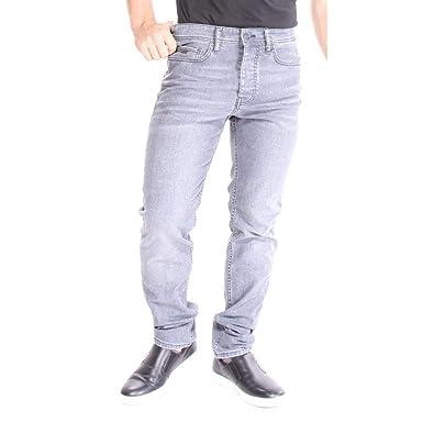 6b96de467f8b5 Amazon.com: Hugo Boss Men's Taber BC-C Rain Denim Jeans 98% Cotton 2 ...