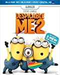Cover Image for 'Despicable Me 2 (Blu-ray 3D + Blu-ray + DVD + Digital HD with UltraViolet)'