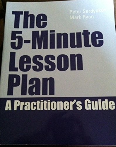 The 5-minute Lesson Plan a Practioner