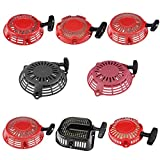 #10: uxcell Generator Lawn Mower Engine Pull Recoil Starter Assembly Red fits