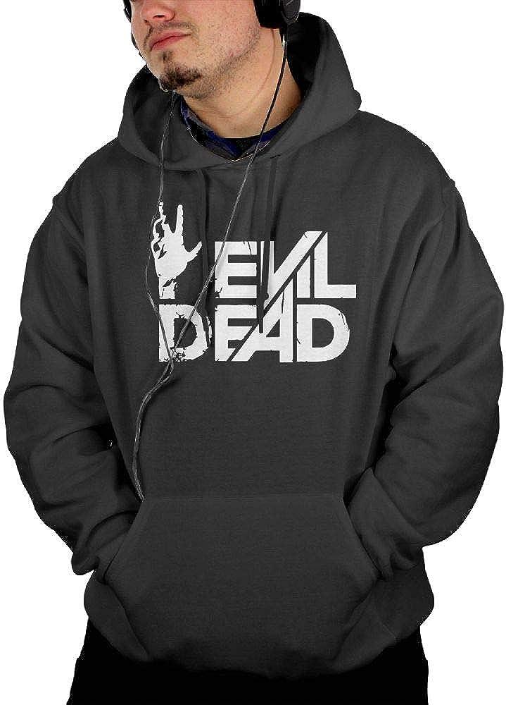 Givmegjvnd Mans Evil Dead Horror Film Movie Hand Logo Hoodie Sweatshirt