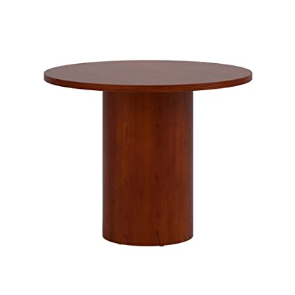 Amazoncom National Office Furniture Universal Inch Round Wood - 42 inch round office table