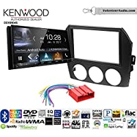Volunteer Audio Kenwood DDX9904S Double Din Radio Install Kit with Apple CarPlay Android Auto Bluetooth Fits 2006-2008 Mazda MX-5