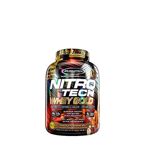 MuscleTech Nitro Tech 100 Whey Gold - Chocolate Banana Split