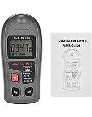 MT-30 Digital Luxmeter LCD Display Light Meter Environmental Testing Illuminometer (Range: 0.1~200,000Lux; 0.01~20,000Fc)