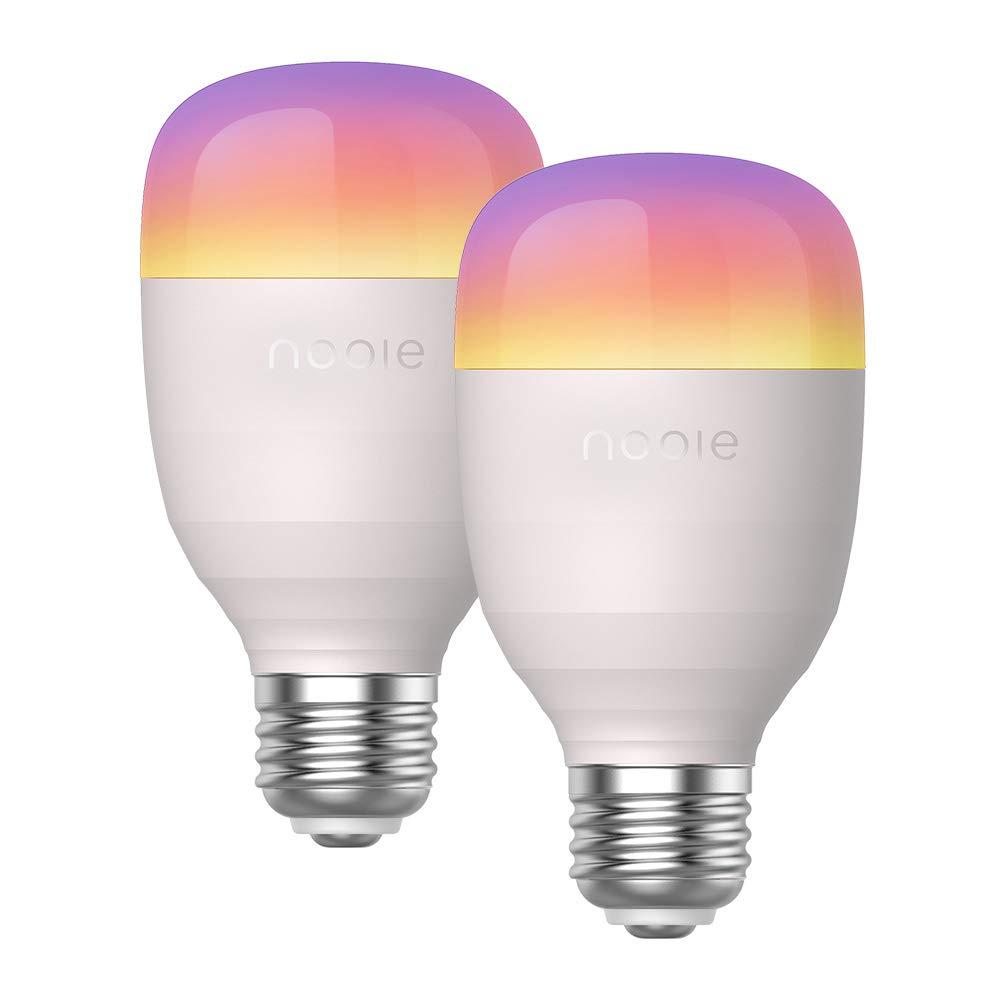 Nooie Lampadina Smart con Luce Soffusa 2800k-6000k+RGBW