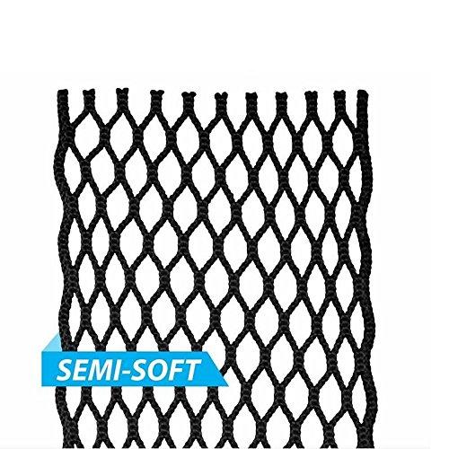 East Coast Dyes Lacrosse Semi-Soft HeroMesh Solid Color White HM-Wht-1P (Best Soft Mesh Lacrosse)